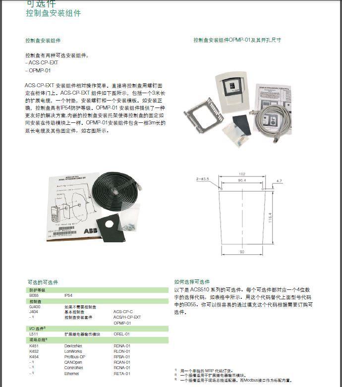 ABB 变频器 ACS510插图(6)
